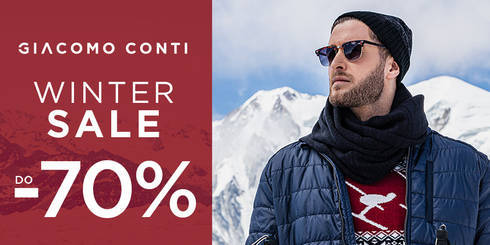WINTER SALE w Giacomo Conti
