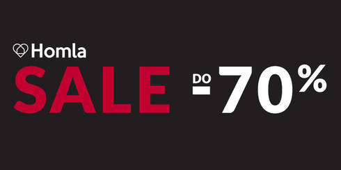 SALE DO -70% w HOMLA