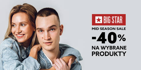 BIG STAR: Mid season sale -40%