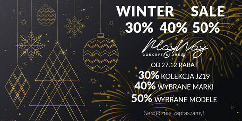 WINTER SALE w May Way Concept Store