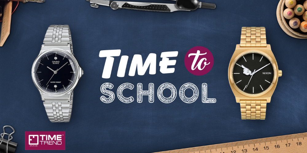 Time to school w Time Trend - 1