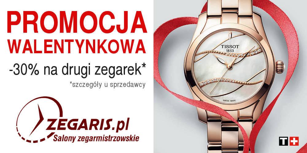 7eaf44d4d745 Walentynkowa promocja w Zegaris